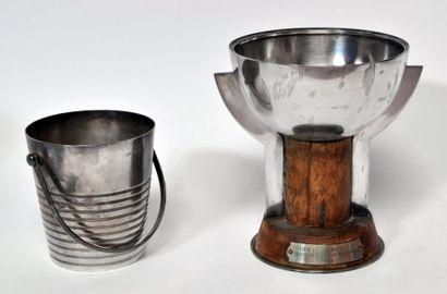 Luc LANEL (1893-1965) pour CHRISTOFLE. SEAU...