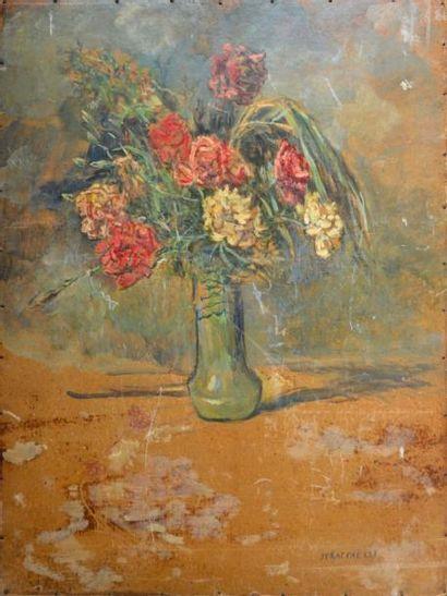 Jean-François RAFFAELLI (1850-1924) Bouquet...