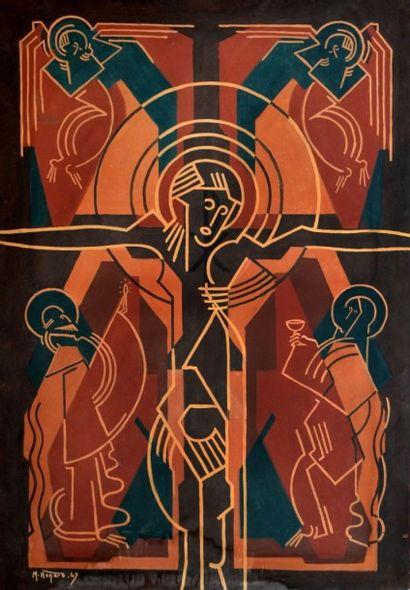 Marc HENARD (1919). Le Christ et l'Eucharistie....