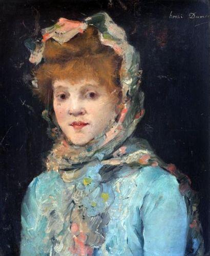 Henri Julien DUMONT (1859-1921) Portait de...