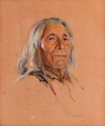 Nicholas DE GRANDMAISON (1892-1978) Portrait...