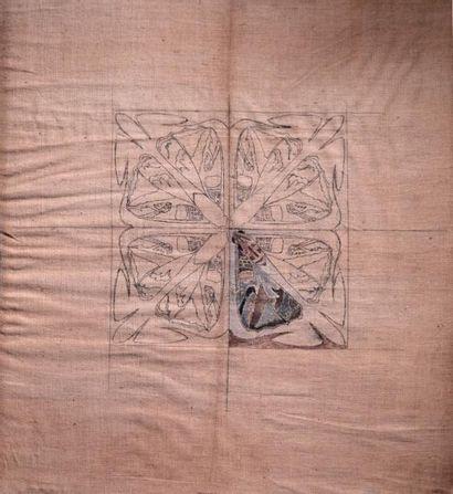 René LALIQUE (1860-1945) (Attribué à) Maquette...