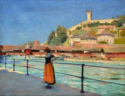 Harold M. MOTT-SMITH, XIXe Femme suisse au...