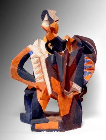 Léon BORGEY (1888-1959) L'accordéoniste....