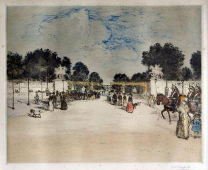 Jean-François RAFFAELLI (1850-1924) L'entrée...