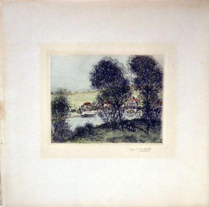 Jean-François RAFFAELLI (1850-1924) Bord...
