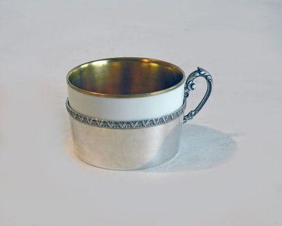 TASSE à DEJEUNER, la tasse en porcelaine...