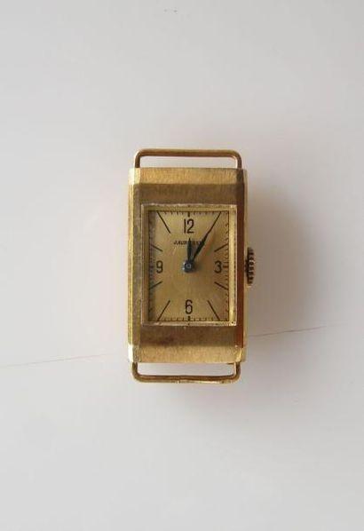 J. AURICOSTE. BOITIER de montre en or jaune...