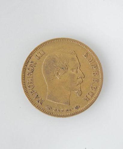 *PIECE de 10 francs or Napoléon III