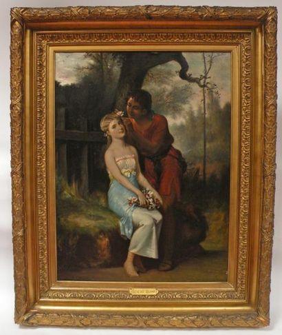 Benedict MASSON (1819-1893). Paul fleurissant...