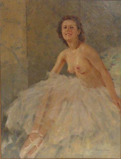 Lucien Henri GRANDGERARD (1880-1970). Ballerine...