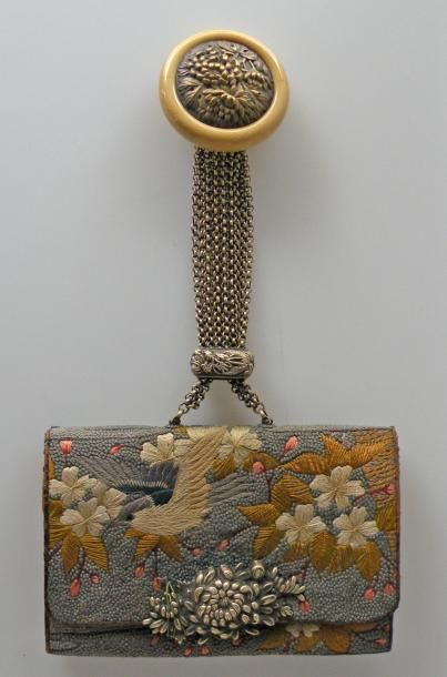 SAGEMONO TABAKO-IRE ou sac à tabac en cuir...