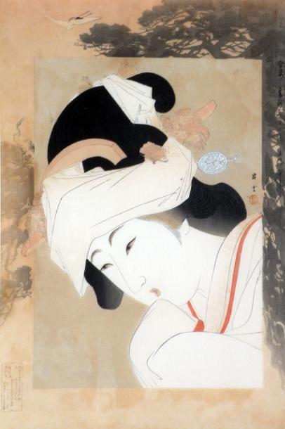Yamamoto Shôun (1870-1965): Oban tate-e,...