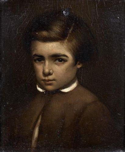Attribué à Théodore Frédéric SALMON ( 1811-1876)....