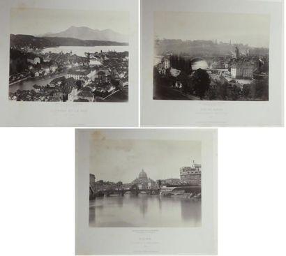 Charles SOULIER (1840-1875). Paris, Rome,...