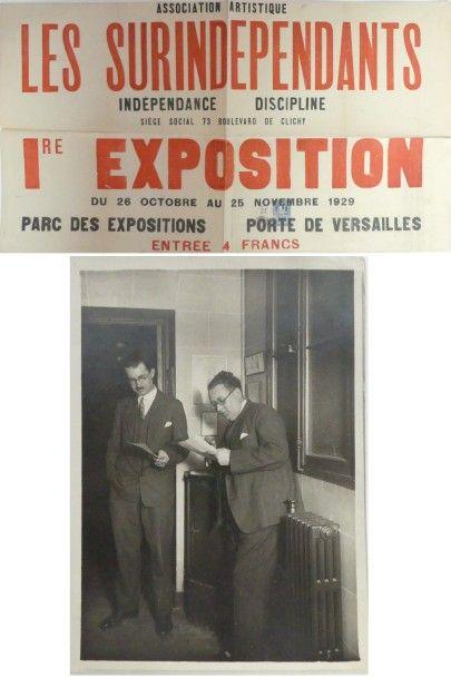 [René MENDES FRANCE (1888-1985), peintre...
