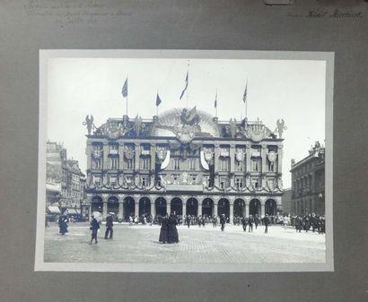 [PARIS] Grands Magasins du Louvre. Décorations...