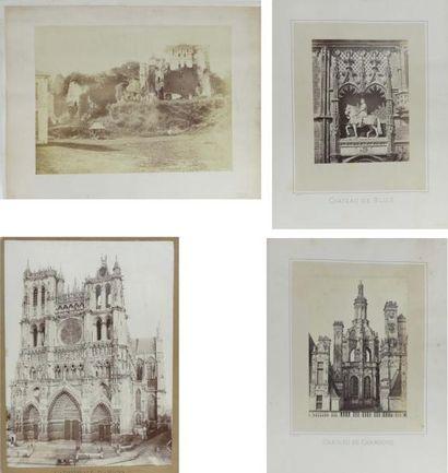 Cathédrale de Strasbourg, château de Chambord...
