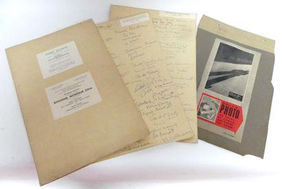 [Georgette CHADOURNE] Documentation, articles...