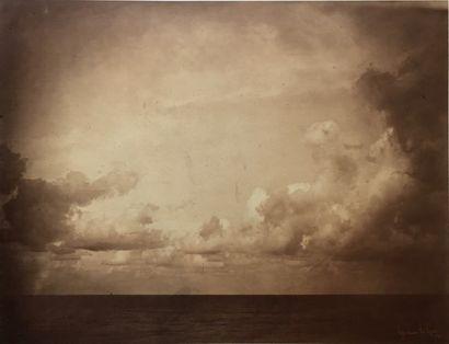 Gustave LE GRAY (1820-1884). Marine, étude...