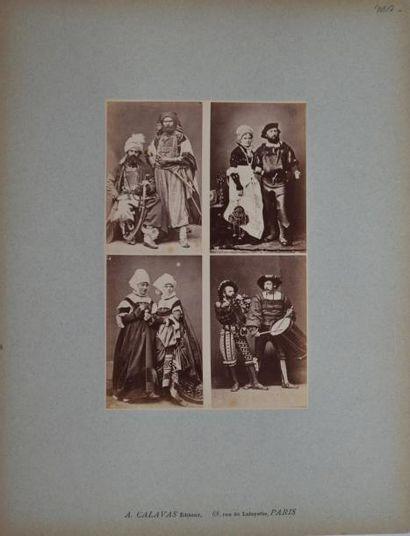 A. CALAVAS, éditeur. Modèles de costumes....