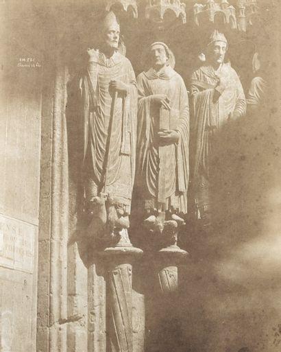 Émile PÉCARRÈRE (1816-1904). Figures du portail...