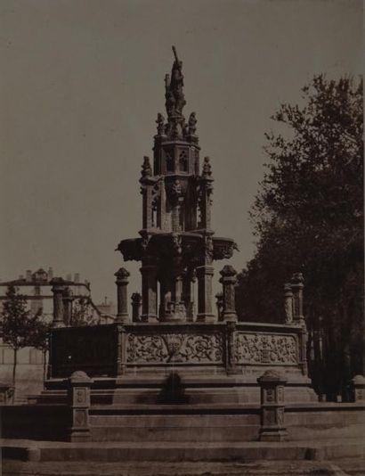 Vicomte L. de VAULX (actif années 1850) et...