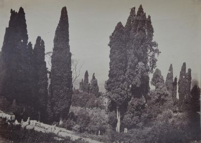 ITALIE. Giacomo CANEVA (1813-1865). Tivoli,...