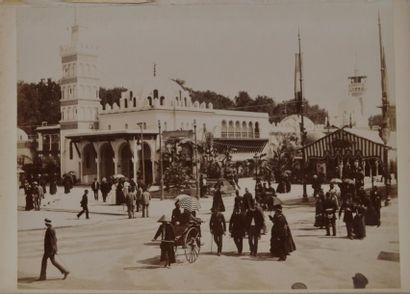 ALGÉRIE. Panoramas d'Alger, de Mansourah...