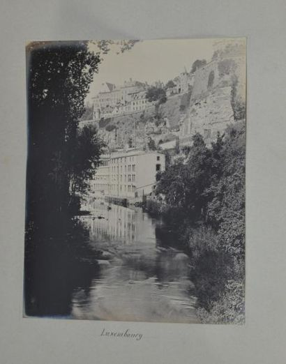 LUXEMBOURG. Paysages vers 1910. 6 épreuves...