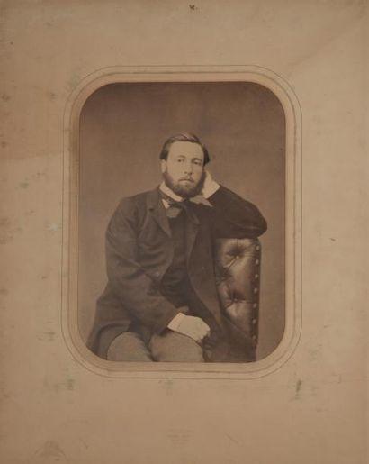 PORTRAITS XIXe. Pierre PETIT, F. BERTHAULT,...