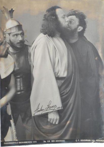 CINÉMA. Anton LANG (1875-1938) dans le film...