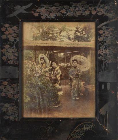PORTRAITS. 40 photographies encadrées, XIXe-XXe....