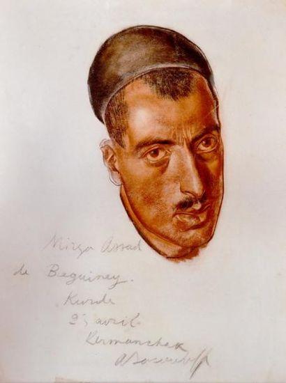 Alexandre IACOVLEFF (1867-1939) Portrait...