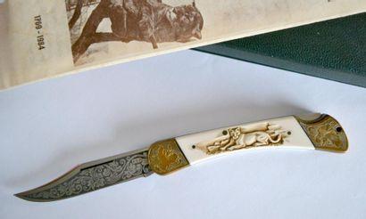 COUTEAU de collection PUMA, Germany, commémoratif,...