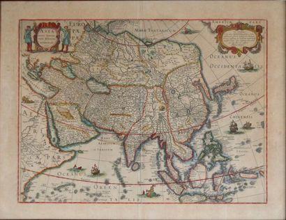 Henri HONDIUS. Asia recens summa cura delineata....