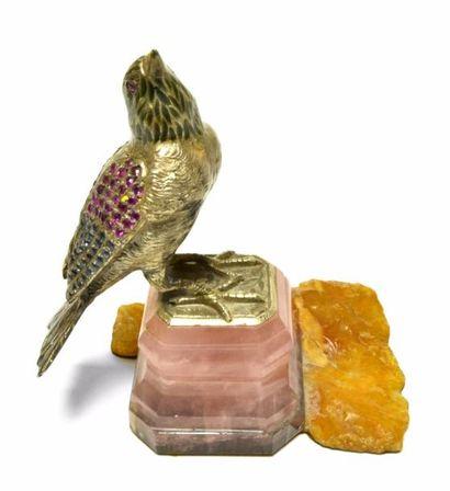 Original petit SUJET en argent, les ailes...