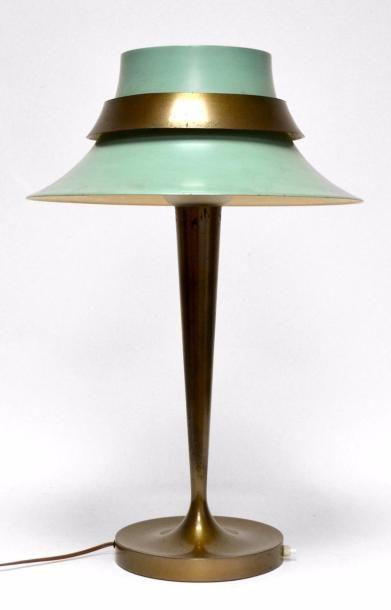 Jean PERZEL (1892 - 1986) LAMPE de table,...