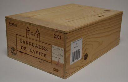 12 Blles de Carruades de Lafite 2001, second...