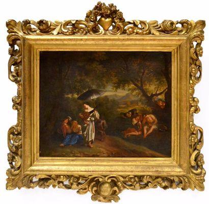 Attribué à Barent GRAAT (1628-1709) Joueuse...
