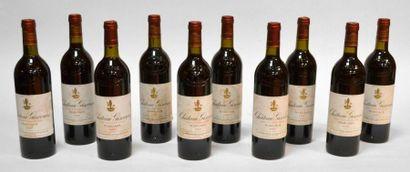 10 Blles Château Giscours 1982, Margaux Grand...