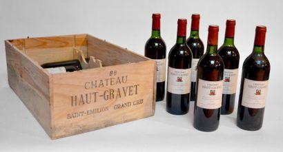 12 Blles Château Haut-Gravet 1988, Saint-Emilion...