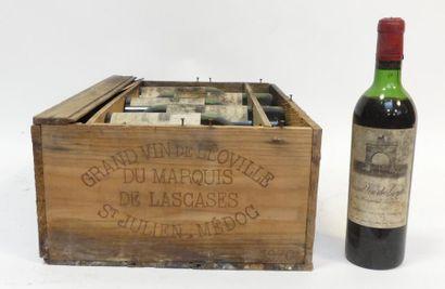 12 Blles de Grand vin de Léoville du Marquis...