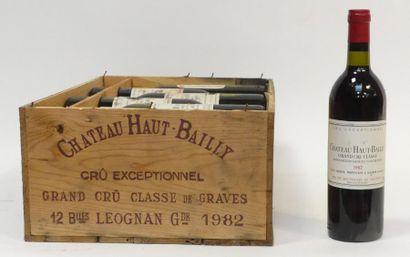 12 Blles Château Haut-Bailly 1982, Graves...