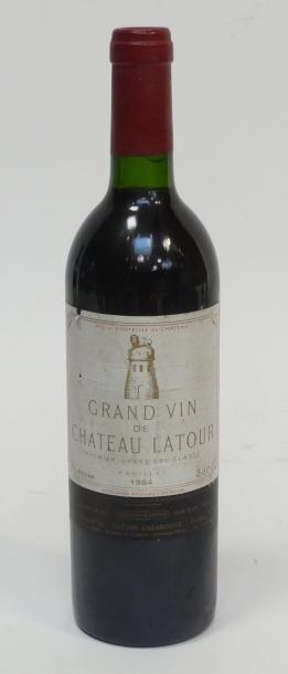 1 Blle de Grand vin de château Latour 1984,...