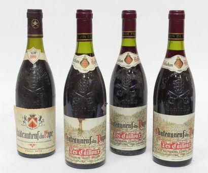 Lot de 4 Blles de Chateauneuf du Pape : 3...