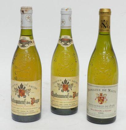 Lot de 3 blles comprenant : 2 Blles Châteauneuf...