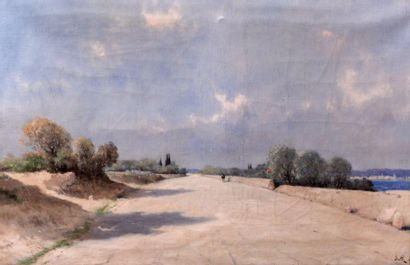 Marie Joseph Léon IWILL (1850-1923) Promeneur...