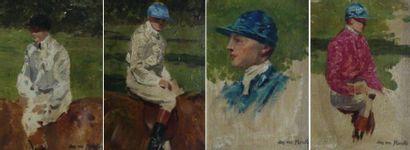 Jean VAN MARCKE DE LUMMEN (1875-1918) Portraits...