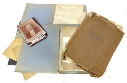 [EDITION L. CONARD]. - [Gustave FLAUBERT]. Manuscrits. Circa 1911 et 1920. Série...